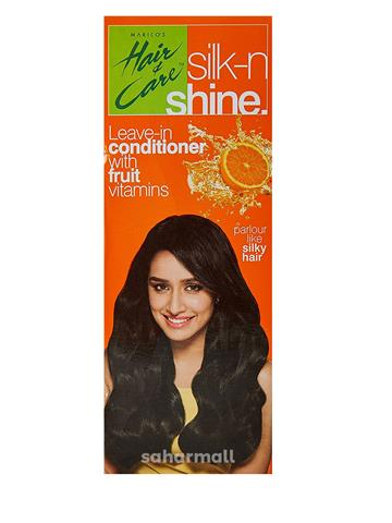 HAIR & CARE SILK -N SHINE LEAVE IN CONDITIONER (50 ML) With Fruit Vitamins
