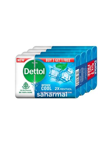 Dettol - Cool Soap 75g(  Buy 3 get 1 free )