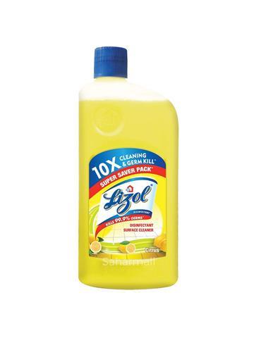 Lizol Disinfectant Surface Cleaner – Citrus (500 ml)