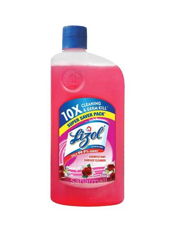 Lizol Disinfectant Floral Surface Cleaner 975 ml
