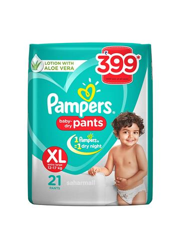 Pampers Pant Style Diapers XL - 21 Pants