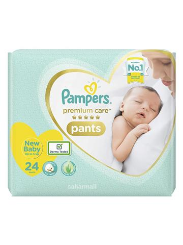 Pampers Premium Care New Baby - 70 Pant Diapers