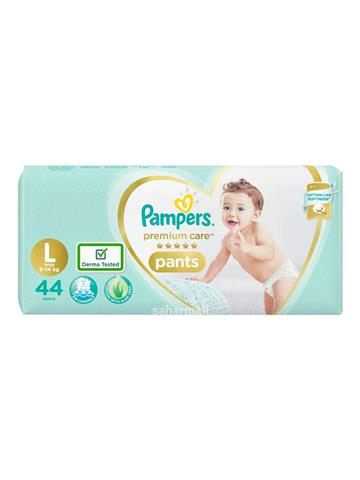 Pampers New Dry Large - 44 Diapers Pants (44 pcs)