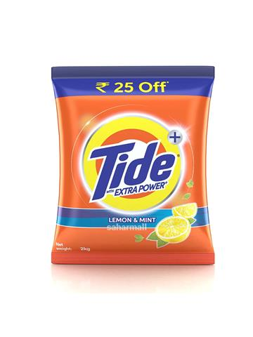 Tide Detergent Powder Lemon & Mint 2kg