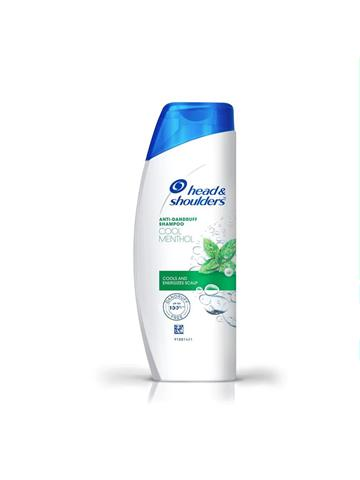 Head & shoulders Anti Dandruff Shampoo, Cool Menthol (340 ml)