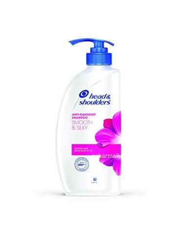 Head & shoulders Anti Dandruff Shampoo, Smooth & Silky (650 ml)