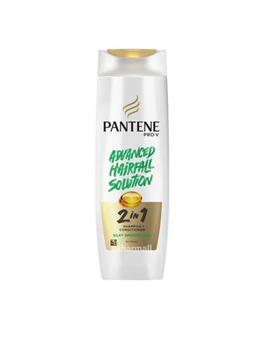 Pantene Pro-V Advanced Hair Fall Shampoo 2 in 1 Shampoo + Conditioner, 340 ml