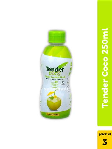 Tender CoCo - Coconut Water 250ml Pack of 3