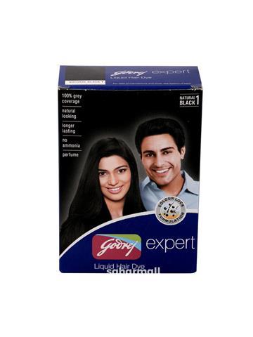 GODREJ EXPERT LIQUID HAIR DYE Natural Black (40ML)