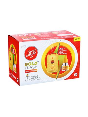 Good knight gold flash liquid + machine free