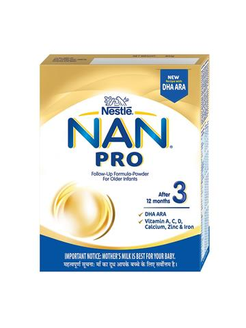 NAN 3 PRO Nestle, After 12 months (400g)