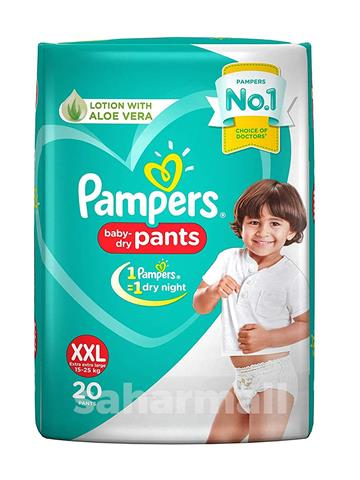 PAMPERS PAINTS XXL 20 PANTS