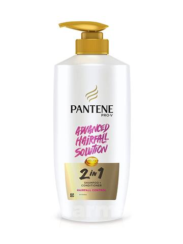 Pantene Pro-V Advanced hairfall solution  2 in 1 Shampoo + Conditioner hairfall control, 650 ml