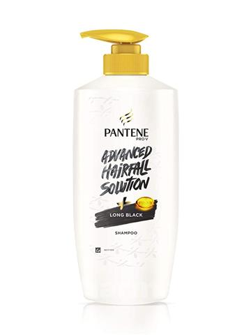 Pantene Advanced Hair Fall Solution Long Black Shampoo (650 ml)