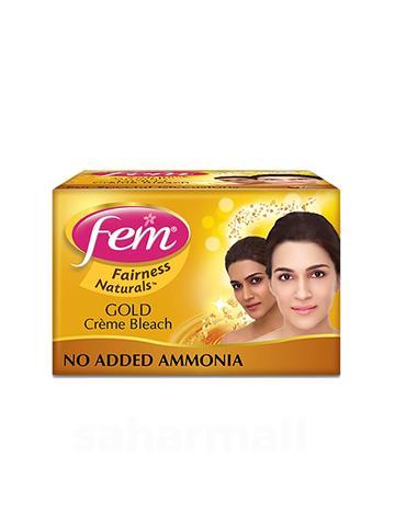 Fem Fairness Naturals Gold Cream Bleach 64g