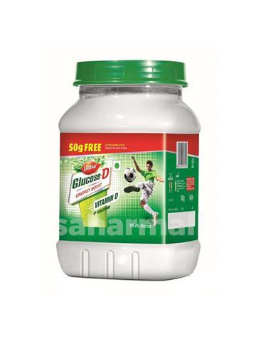 Dabur Glucose D Energy boost Vitamin D + calcium - 500 g (50 g Free)