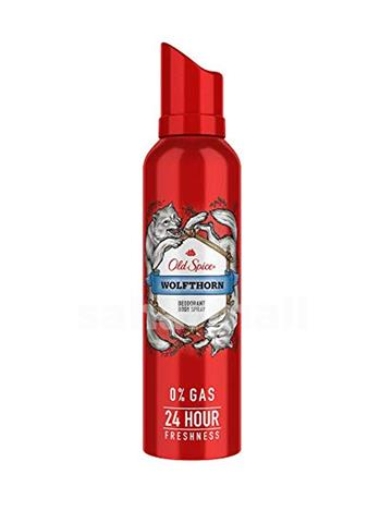 Old Spice wolfthorn deodorant body spray (140ml)