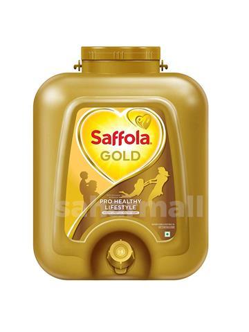 Saffola Gold, Pro Healthy Lifestyle Edible Oil, 15 L Pet Jar