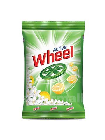 Active Wheel 2 In 1 Clean & Fresh Detergent Powder (4kg)