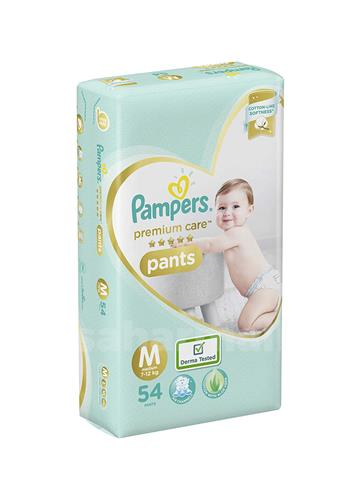 Pampers Premium Care Medium - 54 Diaper Pants