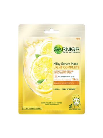 Garnier Skin Naturals, Milky Serum Mask Light Complete (30g)