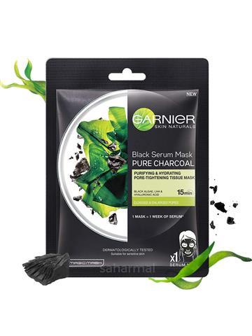 Garnier Skin Naturals Black Serum Mask Pure Charcoal (28gm)
