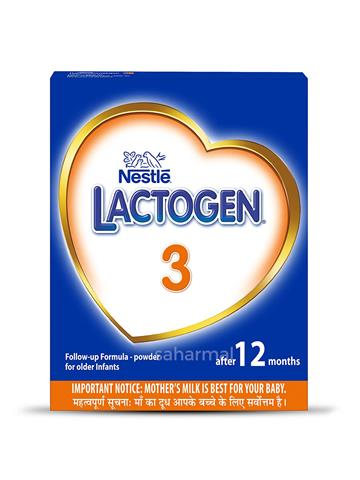 Nestle Lactogen 3 Follow-Up Formula Powder After 12 months (400g)