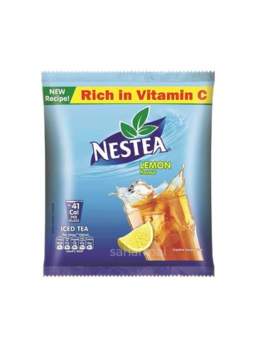 Nestea Iced Tea Lemon 400g with free Icy Twist Sipper