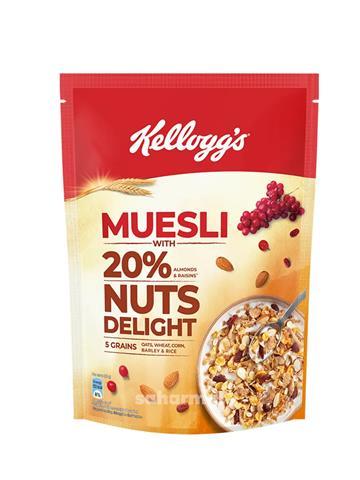 Kelloggs Muesli Nuts delight (500 Gm)
