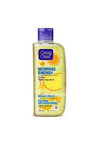 Clean & Clear Face Wash Morning Energy lemon fresh face wash (100 ml)
