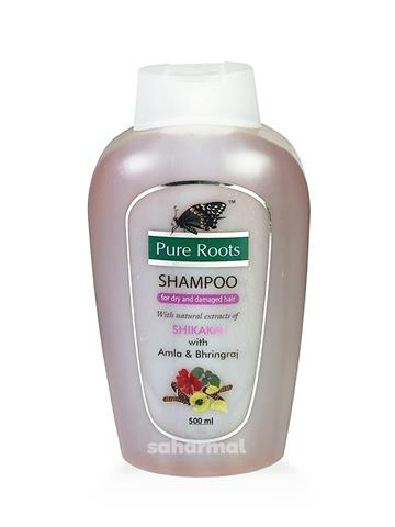Pure roots shampoo shikakai with amla & Bhringraj (500ml)