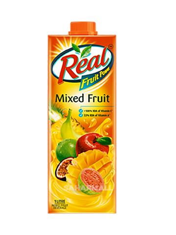 Real Fruit Juice, mixed , 1L