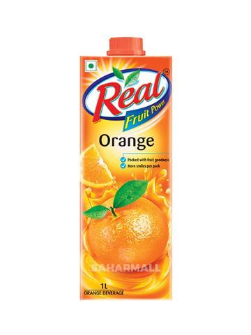 Real Fruit Power Orange Juice (1 Ltr)