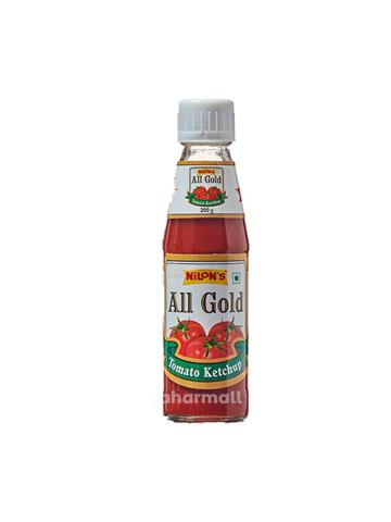 nilons all gold tomato ketchup 200g