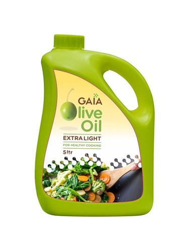 gaia olive oil extra lite 5 litre