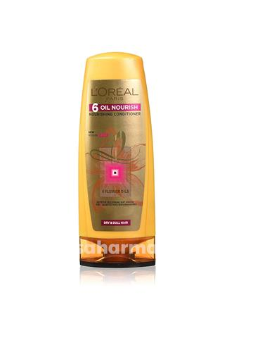 Loreal - 6 Oil Nourishing Conditioner dry & dull hair - 192.5ml