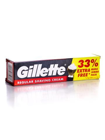 Gillette regular shaving cream Tube (93.1 gm)