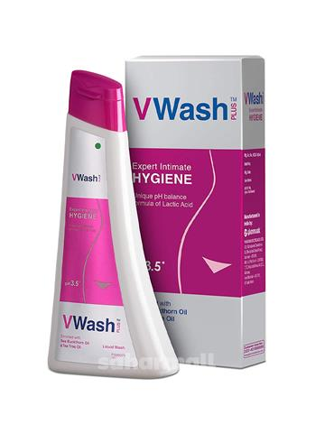 VWash Plus Expert Intimate Hygiene Liquid Wash (100ml)