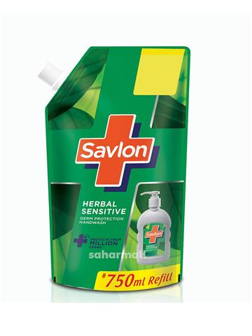 Savlon Hand Wash - Herbal Sensitive (750ml)