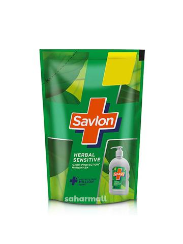 Savlon herbal sensitive Germ Protection Liquid Handwash Refill Pouch (175ml)