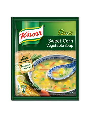 knorr sweet corn vegetable soup (44g)