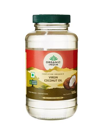 Organic India Virgin Coconut Oil, (500ml)