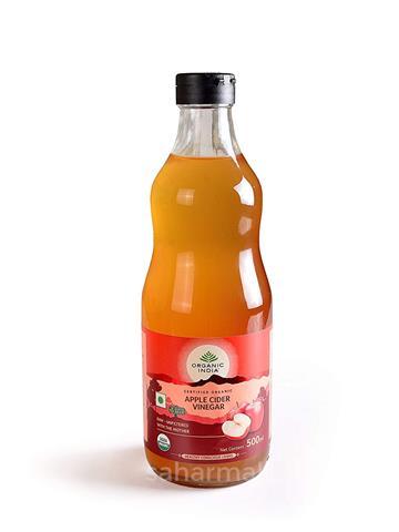 Organic India Apple Cider Vinegar (500 Ml)