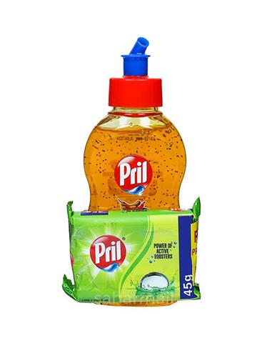 Pril Dishwash Speckles, Tamarind - 225 ml free pril bar Worth Rs 10