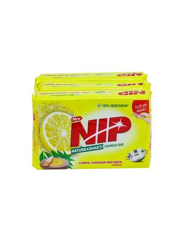 Nip Nature & Shakti Dishwar Bar (pack of 300x3 )offer pack