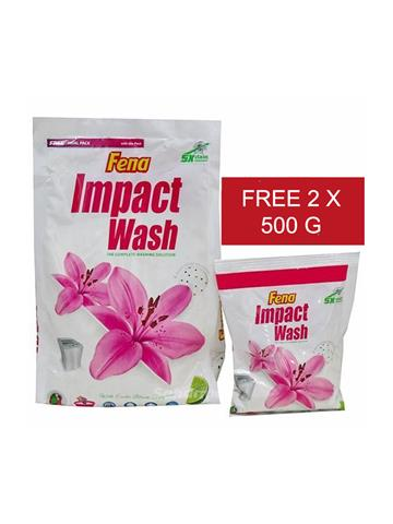 Fena impact wash lemon+ 4 kg + 2 x 500 g worth rs 100