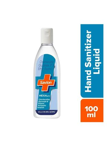 Savlon HEXApro Disinfectant Hand Sanitizer Liquid 100 ml
