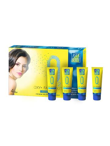 Asta Berry Oxy Facial Kit with Free Astaberry Facewash 60ml Rs 75.00