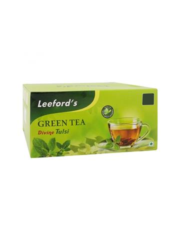 Leefords Green Tea Divine Tulsi 25 Tea Bags