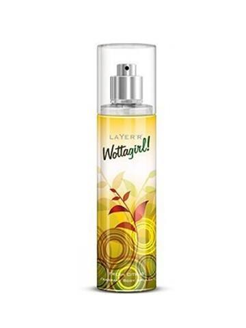 Layer Wottagirl fresh Citrus Fragrant Body Splash 135ml